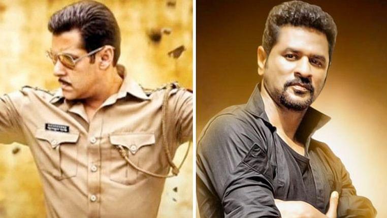 Prabhu Deva and Salman Khan to groove on Dabangg 3's 'Munna Badnaam Hua'