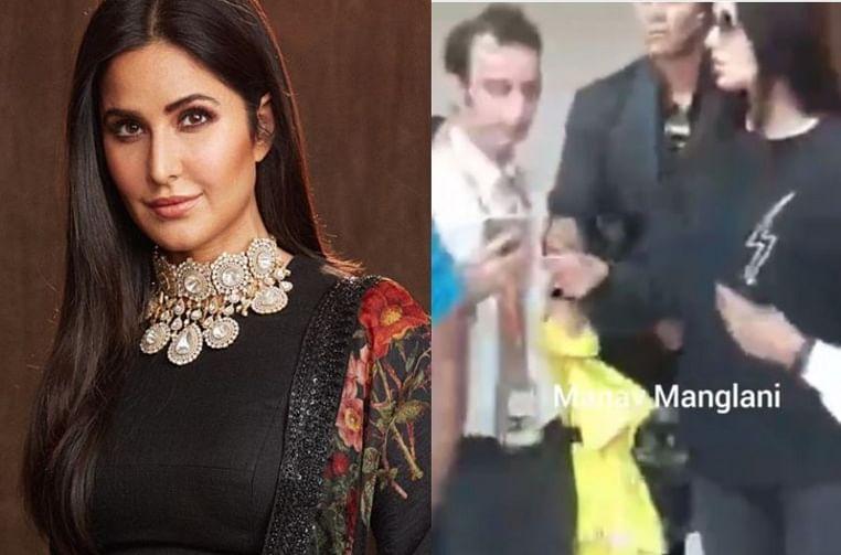 Watch Katrina Kaif handle rowdy fan like a boss