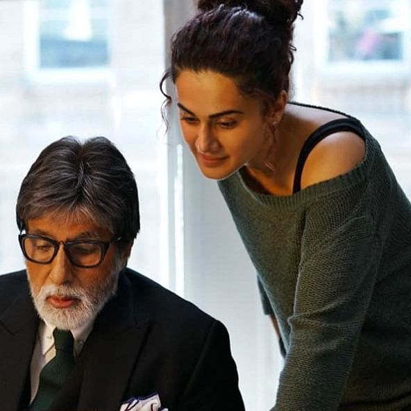 Taapsee Pannu is completely chilled out: Amitabh Bachchan