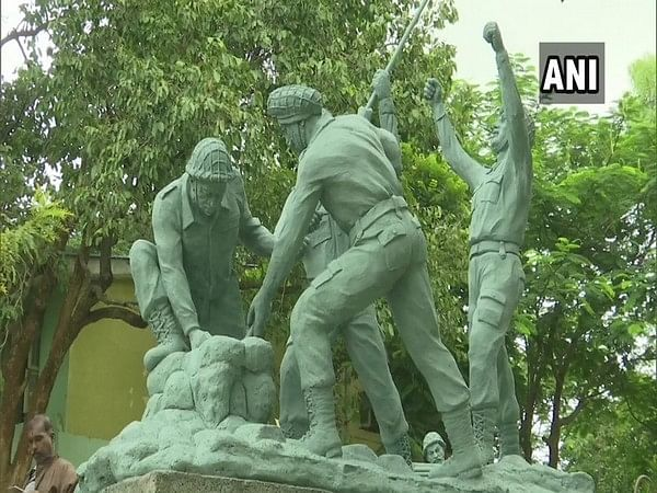 Shivamogga gets park dedicated to Indian soldiers on Kargil Vijay Diwas
