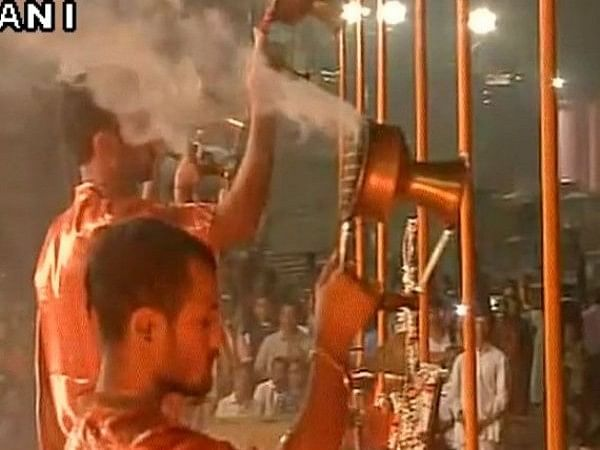 Uttar Pradesh: Varanasi evening Ganga Aarti advanced due to lunar eclipse