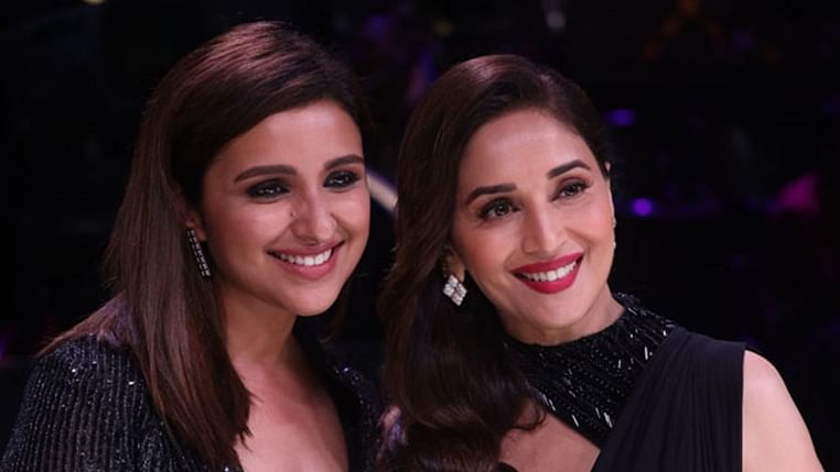 Parineeti Chopra and Madhuri Dixit's 'Chane Ke Khet Mein' step boomerang is the cutest ever!