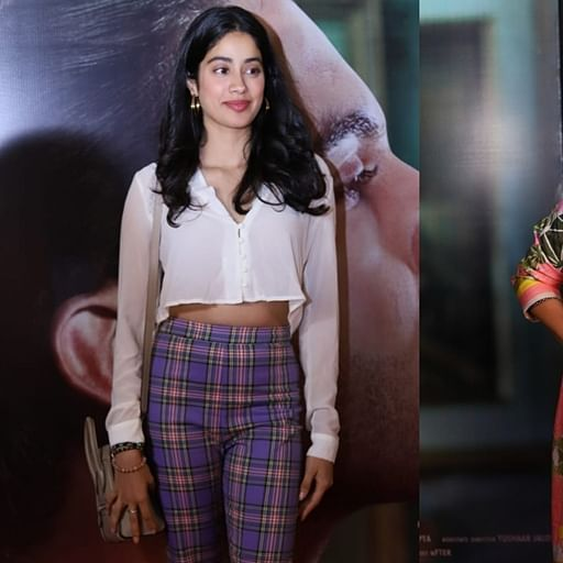 Janhvi Kapoor, Swara Bhasker, slay at 'Judgementall Hai Kya' screening