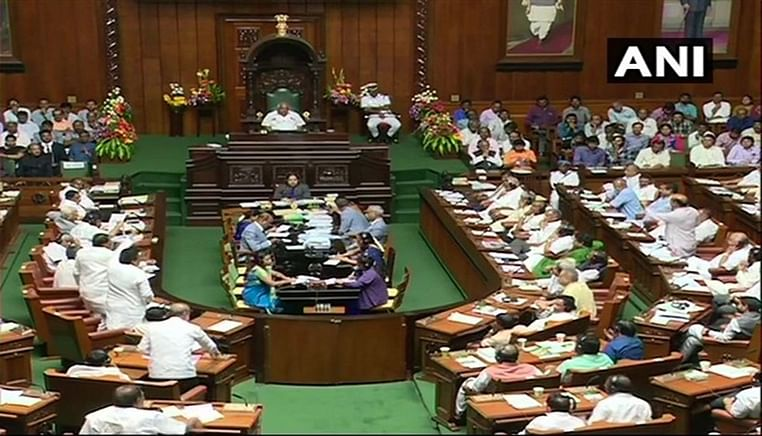 Karnataka trust vote put off again, speaker sets Tuesday 6 pm deadline for trust vote