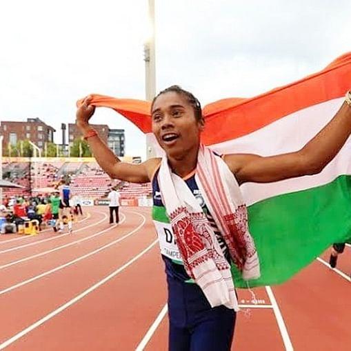 Bollywood congratulates 'supergirl' Hima Das for achieving 5 gold medals