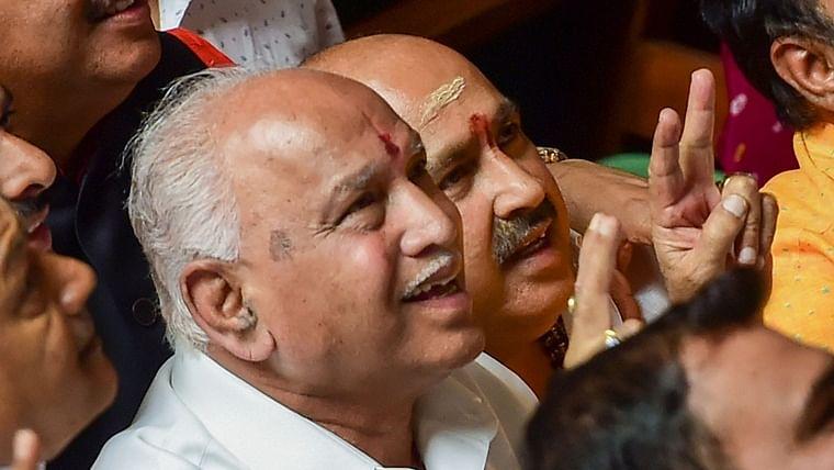 Yeddyurappa to take oath as Karnataka CM at 6 pm, prove majority by Jul 31