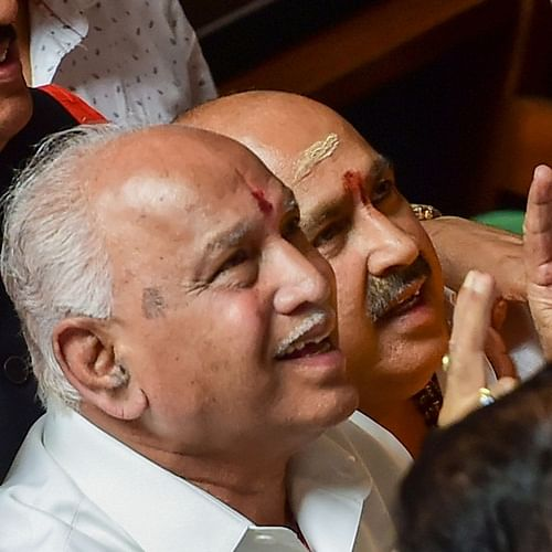 Yeddyurappa to take oath as Karnataka CM at 6 pm, prove majority by Jul 31