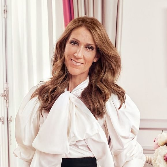 Celine Dion risked wardrobe malfunction in Paris