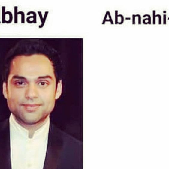Abhay Deol explains his absence from big screen in the most hilarious way