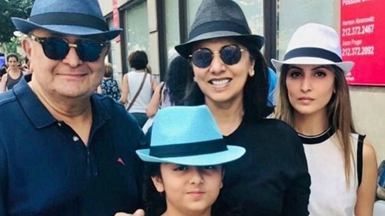 Rishi Kapoor death: Daughter Riddhima Kapoor Sahni finally arrives in Mumbai to join family