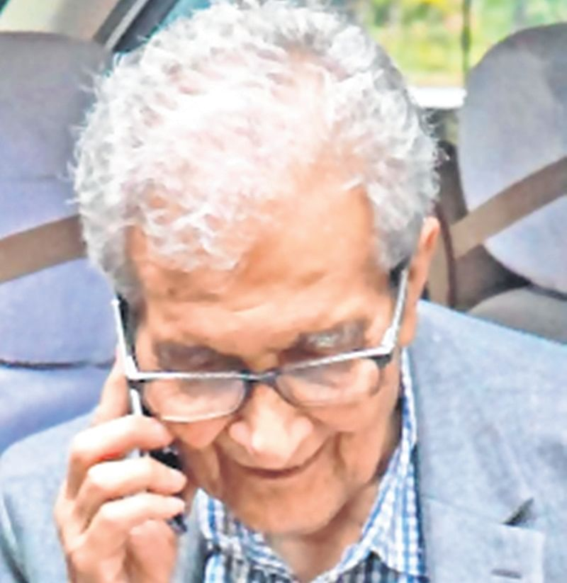 West Bangal BJP chief hits out at Amartya Sen over slogan
