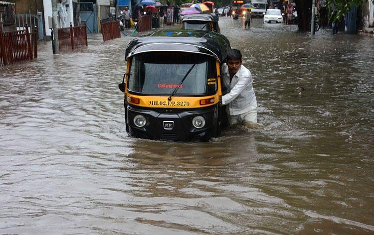 Mumbai rains: Traffic movement in city virtually comes to a halt