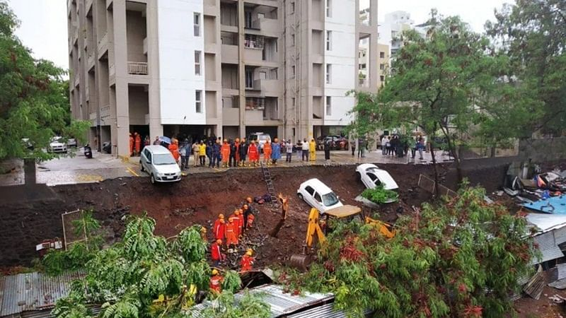 Pune: FIR registered against builder, owner, contractor after 6 killed in wall collapse in Ambegaon