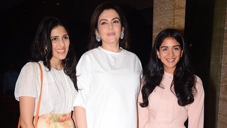 Nita Ambani, Radhika Merchant, Shloka Mehta are every bit royal in these pictures