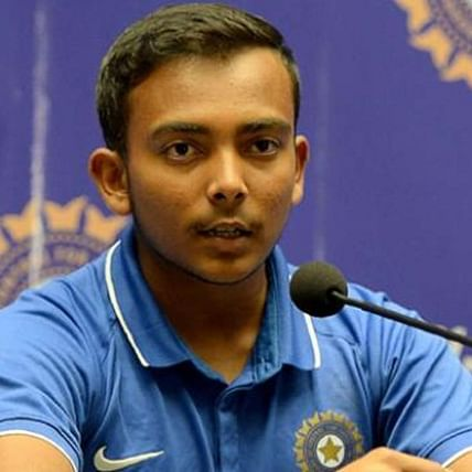 BCCI suspends Prithvi Shaw for 'doping violations'