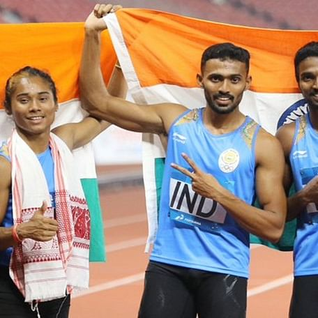 India's Asian Games mixed team relay silver set to be upgraded to gold