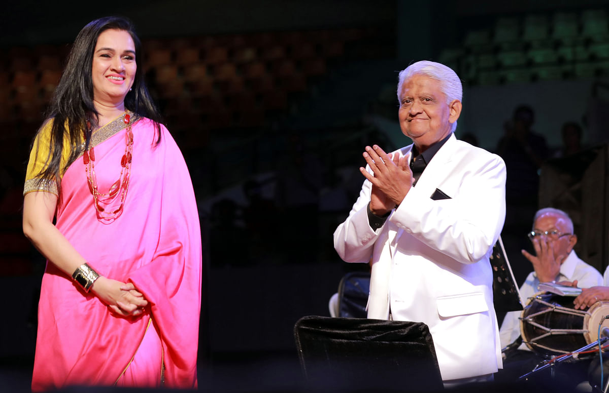Padmini Kolhapure & Pyarelal