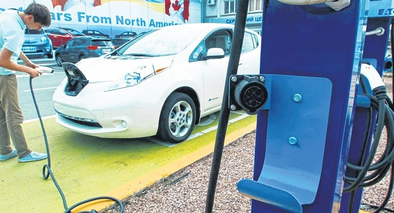 UK-based manufacturer promises EV charging stations across India