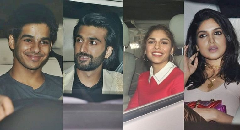 'Malaal' Screening: Javed Akhtar, Ishaan Khatter, Bhumi Pednekar and others attend