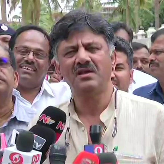 Karnataka Congress leader D K Shivakumar produced in Delhi court by ED