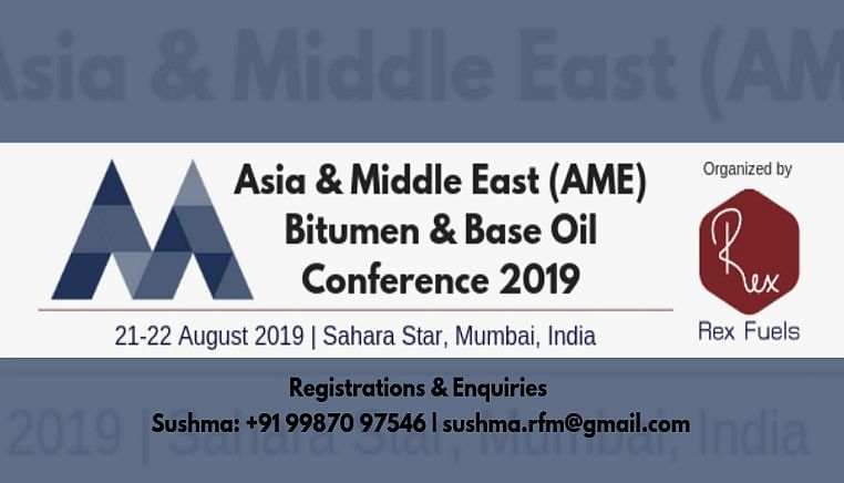 Asia & Middle East (AME) Bitumen & Base Oil Conference