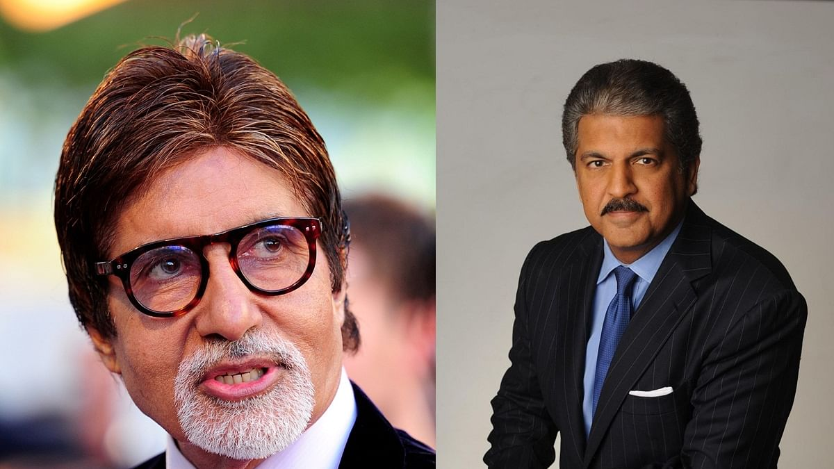 Amitabh Bachchan, Anand Mahindra enjoys banter over 'Big B' epithet