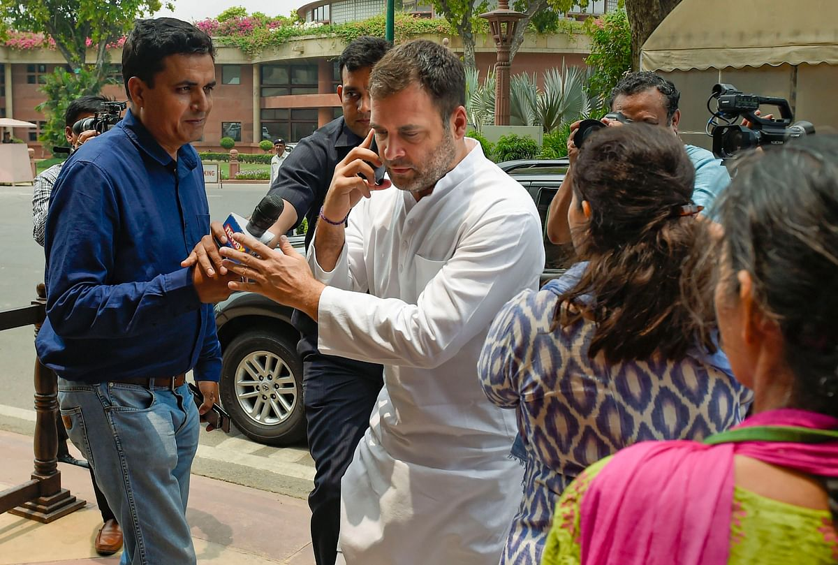 Rahul Gandhi to visit Amethi on July 10