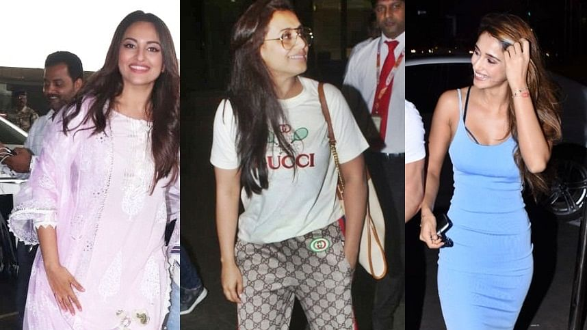 Paparazzi Diaries: Disha Patani, Sonakshi Sinha, Rani Mukerji and others spotted