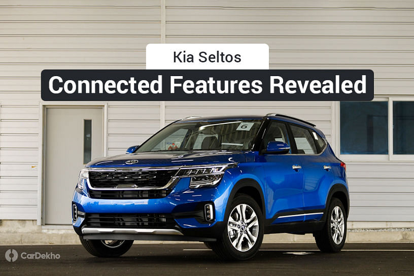 Kia Seltos UVO Connected Technology Will Let You Remotely Control Ignition, AC, Air Purifier, And A Lot More!
