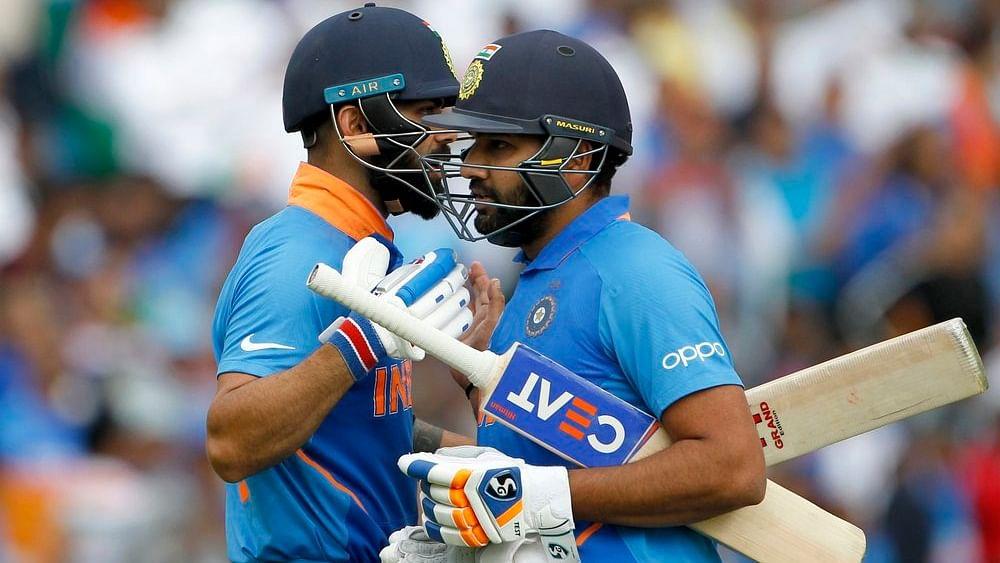 Indian captain Virat Kohli and Rohit Sharma