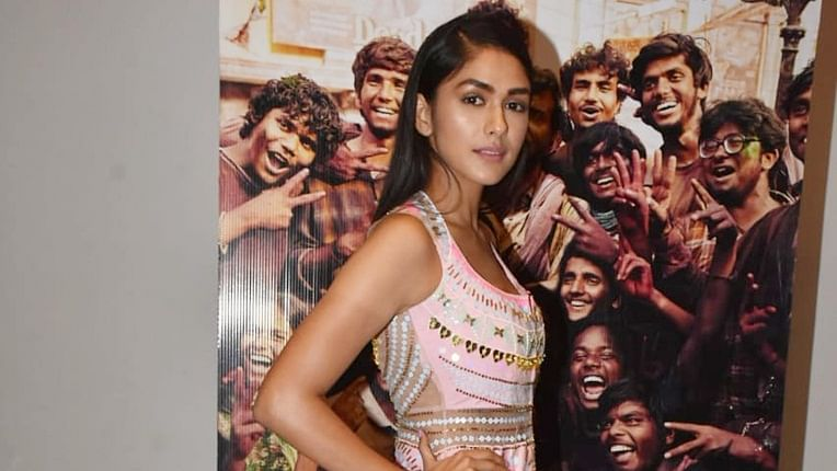 Mrunal Thakur slays in a whopping Rs 1 Lakh outfit by Papa Don't Preach at 'Super 30' success bash