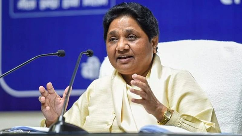 Majority reeling under 'roti-rozi' problem, PM Narendra Modi talking about cake: Mayawati