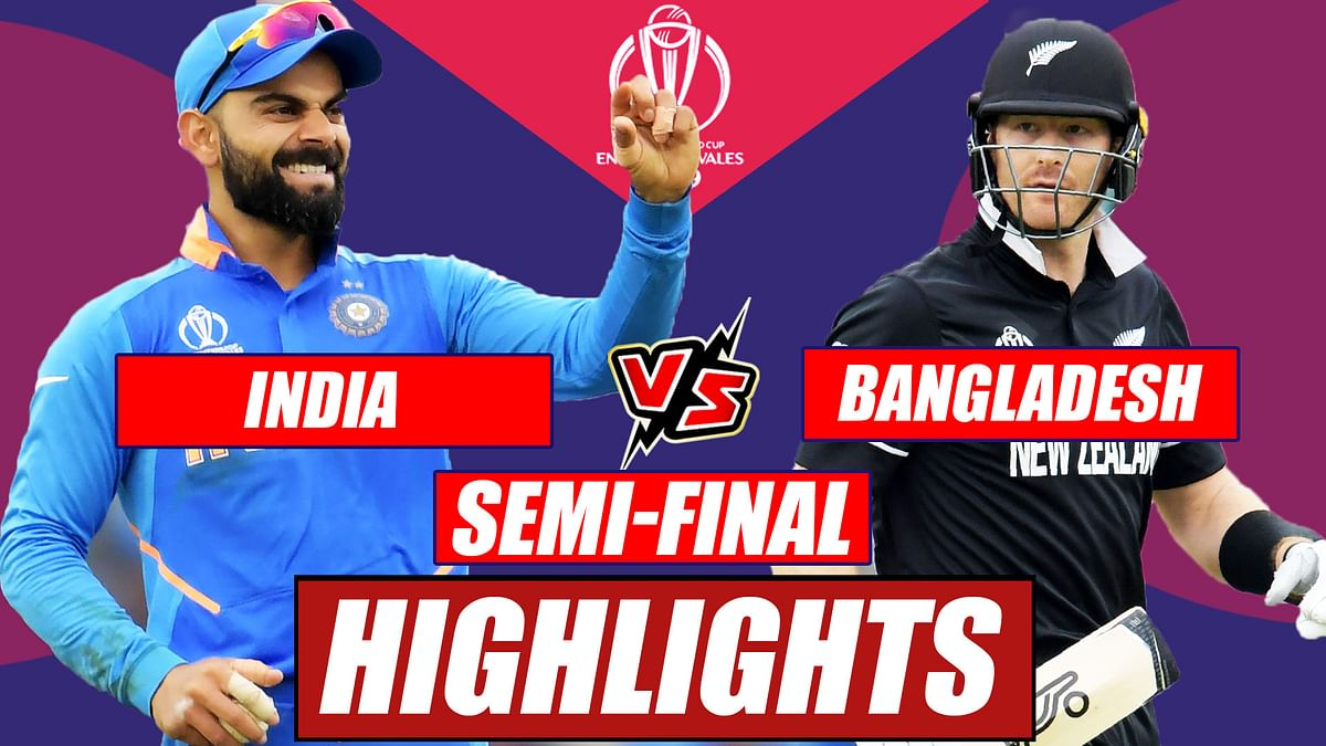 India vs New Zealand World Cup 2019 Semi-Final At Manchester | Match Highlights So Far