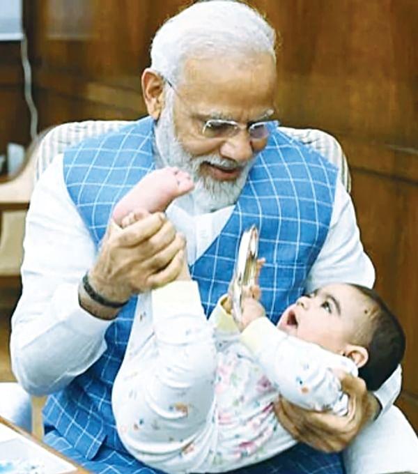 Aside, Chacha Nehru, Modi 'Taau' is here