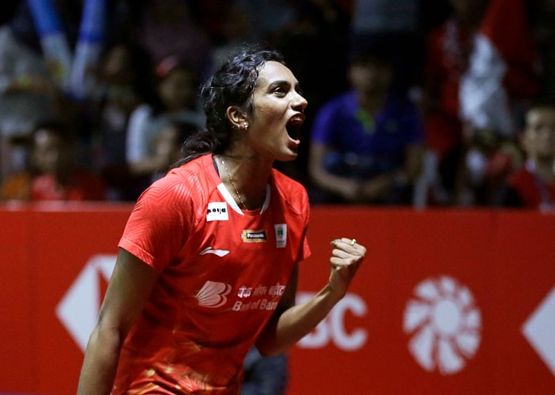 Fifth-seed PV Sindhu came up with a dominant display to beat higher-ranked Chen Yufei in straight games