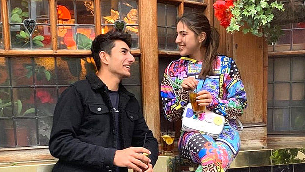 Sara Ali Khan's latest post about her bond with Ibrahim Ali Khan aptly describes what's it like to have a sibling