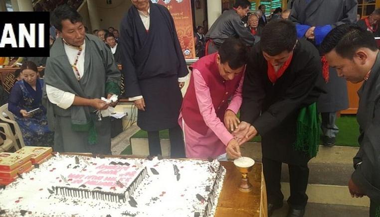 84th birthday of spiritual leader Dalai Lama celebrated at Dharamshala