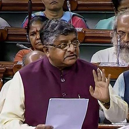 SC judges should avoid harsh words, says Law minister Ravi Shankar Prasad in Rajya Sabha during debate