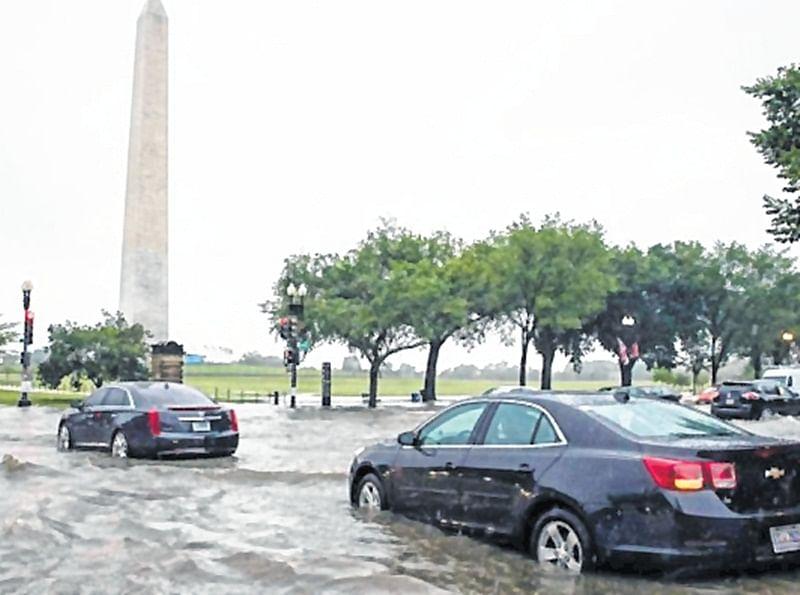 Washington D.C. or rain-hit Worli?