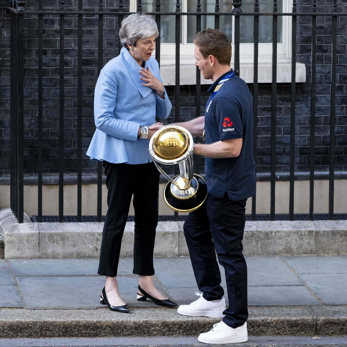 World Cup victory helps Britain fall in love with cricket again: Theresa May