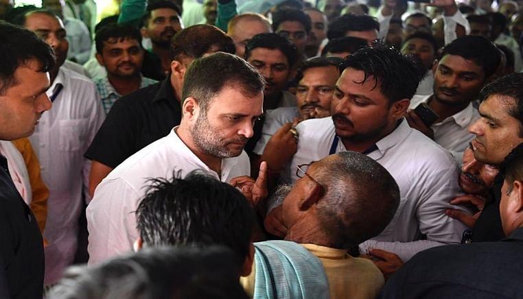 """""""It feels like coming home', Rahul Gandhi in Amethi"""
