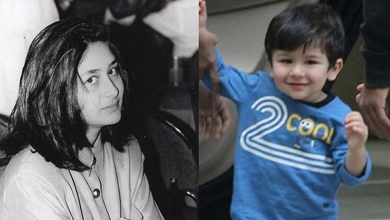 Taimur Ali Khan is a spitting image of his mom Kareena Kapoor in this picture
