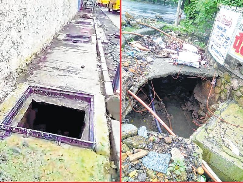 Mumbai: Open drains, yawning manholes mock at Mira Bhayandar Municipal Corporation