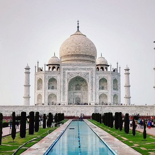 Tourists evacuated after hoax bomb call at Taj Mahal in Agra