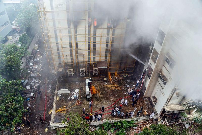 MTNL building blaze: Internet, telephone services hit
