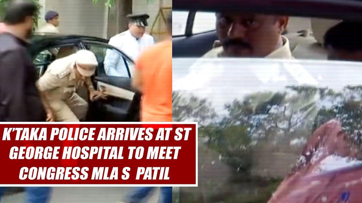 K'taka Police Arrives At St George Hospital To Meet Congress MLA Shrimant Patil