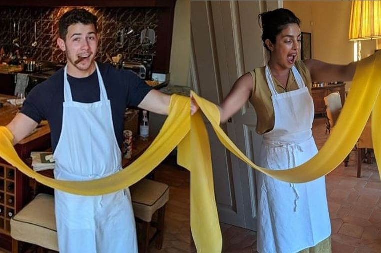 Priyanka Chopra and Nick Jonas date night cooking is all the rage
