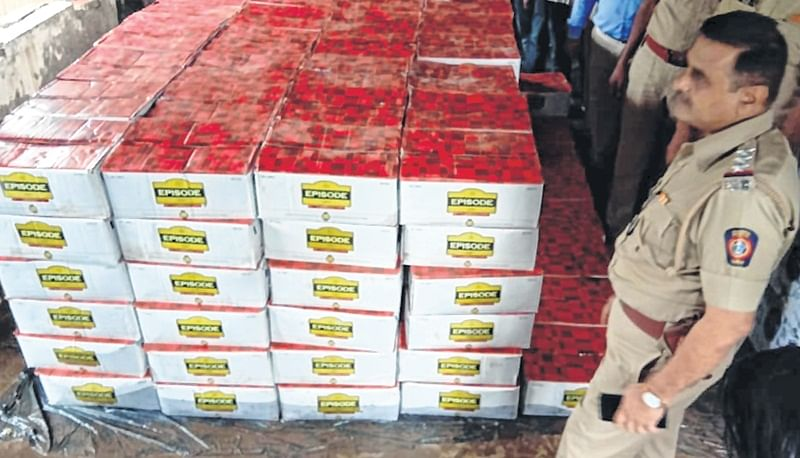 Turbhe: Country liquor worth Rs 1.25 crore seized