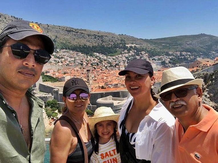 Lara Dutta visits 'Game Of Thrones' sets during her latest summer holidays!