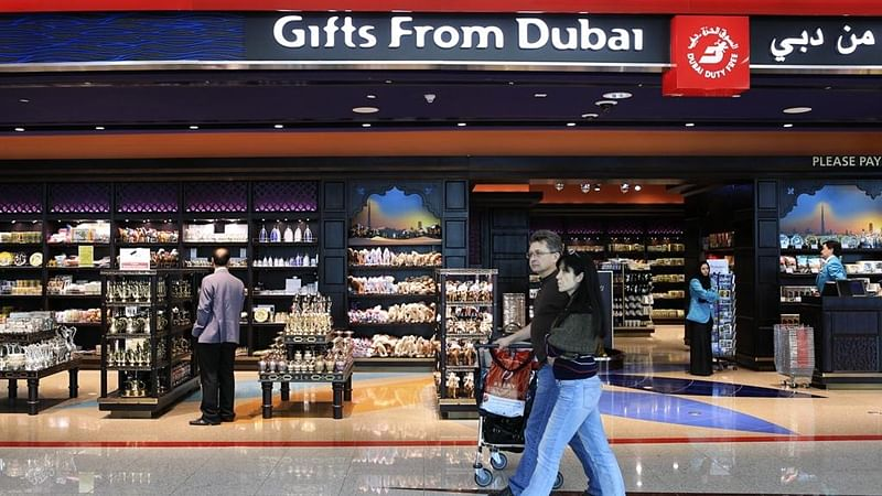 Now, shop with INR at Dubai Duty-Free shops